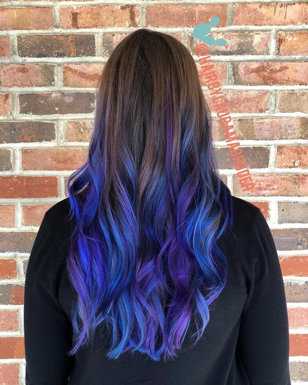 Как покрасить волосы в синий цвет - wikiHow 11