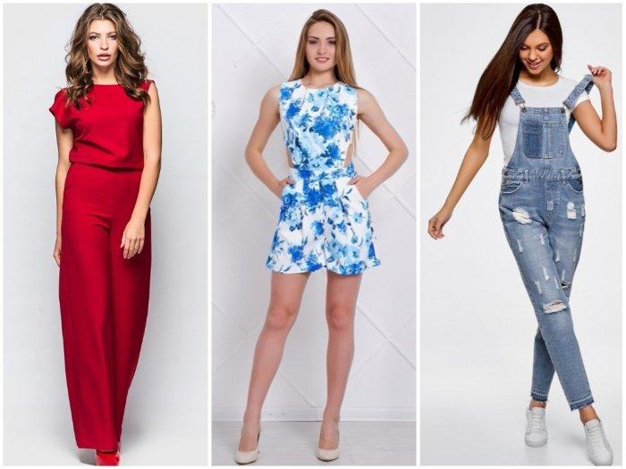 Модные женские комбинезоны 2020: фото