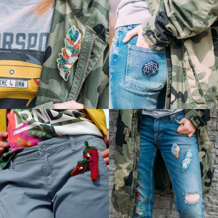Модные броши от Терри Донстер